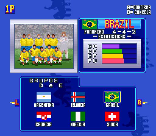 Entre no clima de Copa em 16 bits com esse modnostálgico