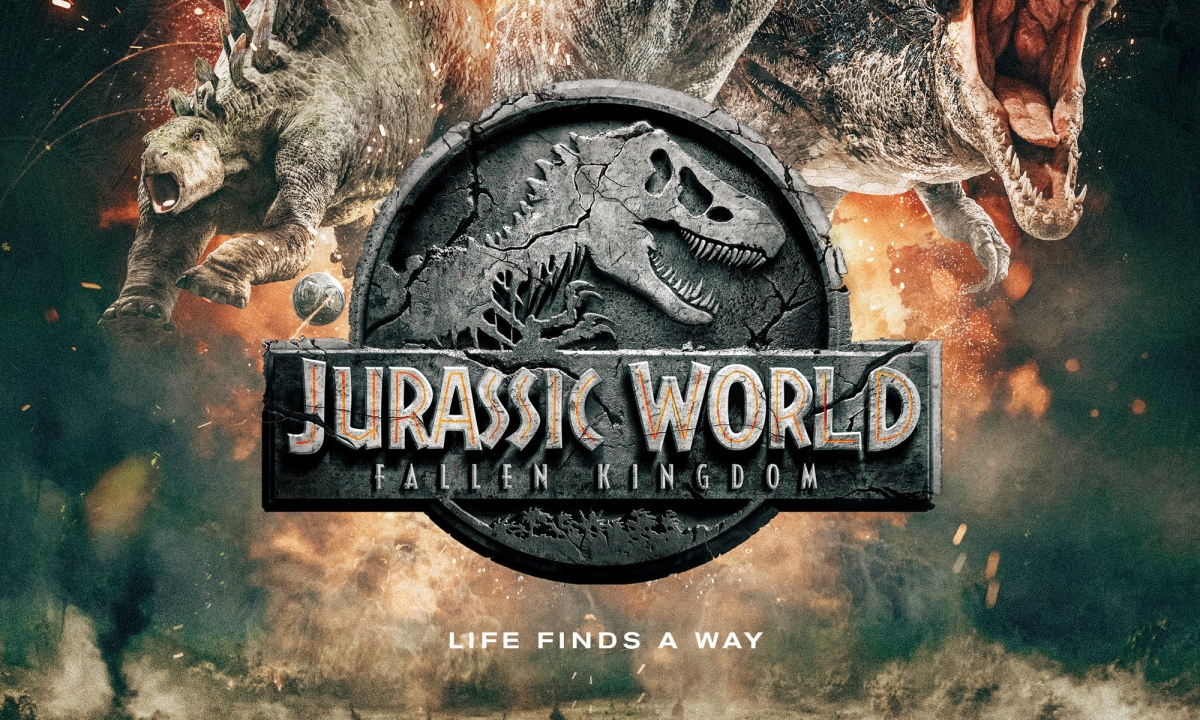 """""""Jurassic World: Reino Ameaçado"""" ganha pôster distópico e classificaçãoindicativa"""