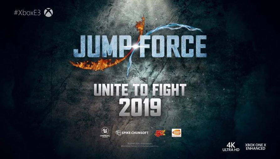Bandai Namco libera novo trailer de JumpForce