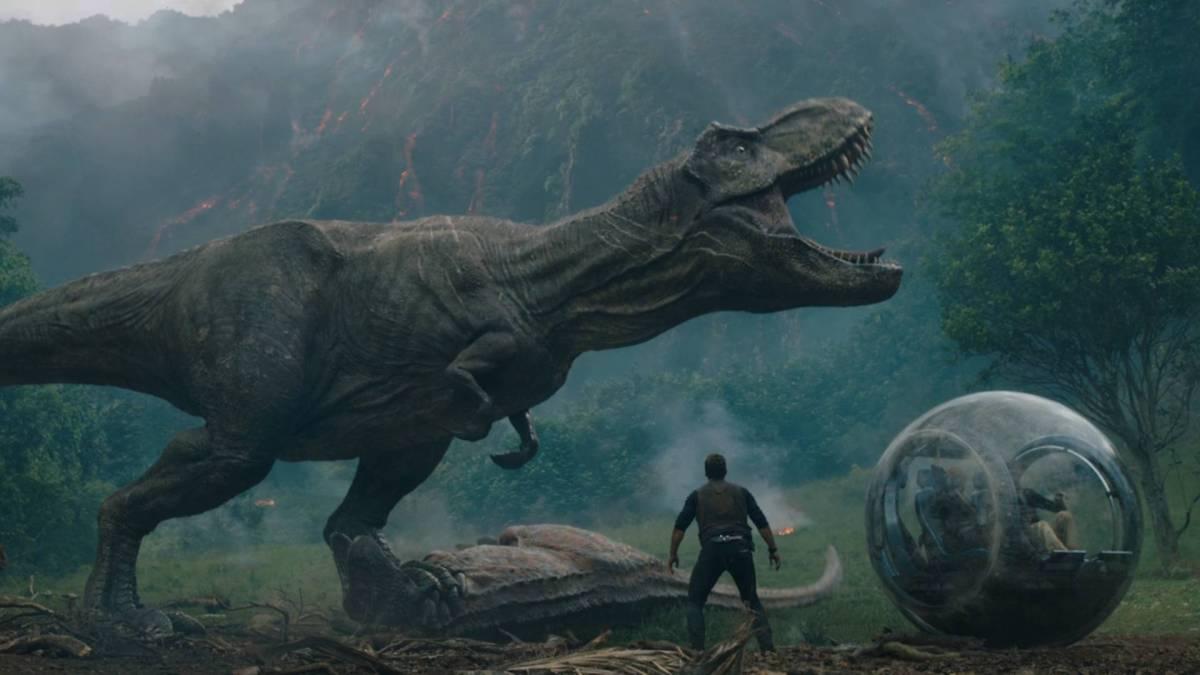 Jurassic World: O Reino Ameaçado estreia na liderança dabilheteria