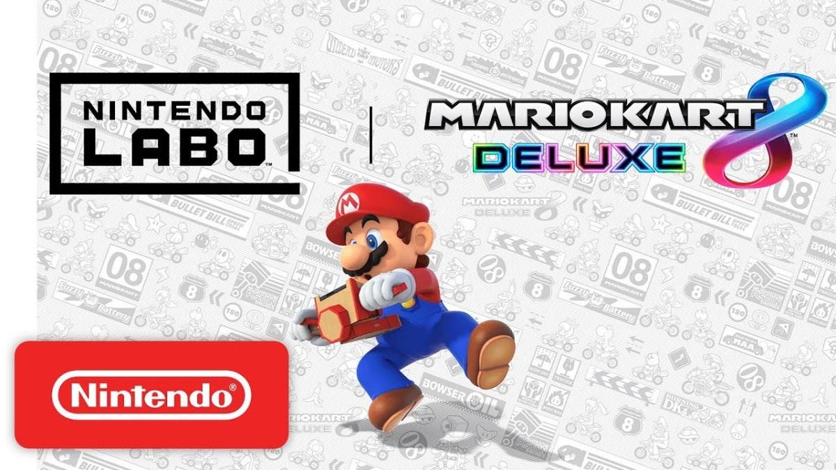 Mario Kart 8 Deluxe: nova atualização permite compatibilidade com Toy-ConMotorbike
