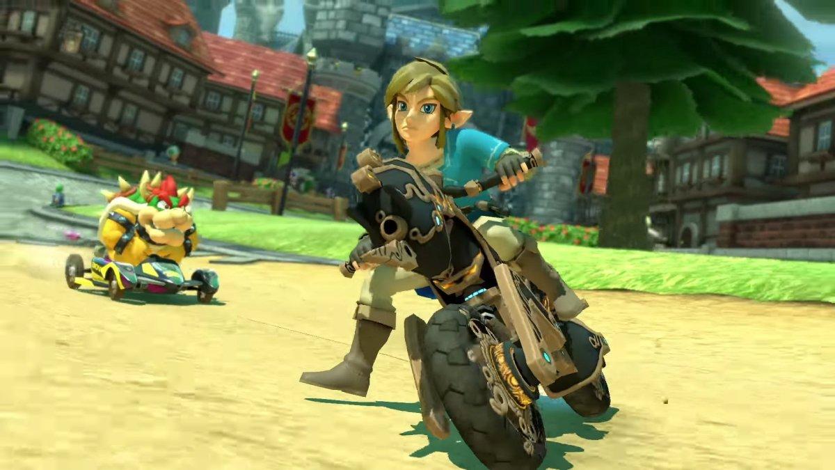 Mário Kart 8 Deluxe recebe conteúdo gratuito de Breath Of TheWild
