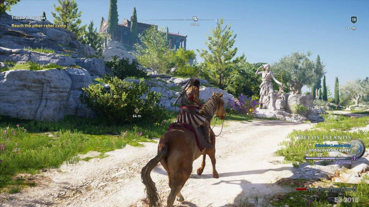 Assassin's Creed Odyssey contará com maior variedade demissões