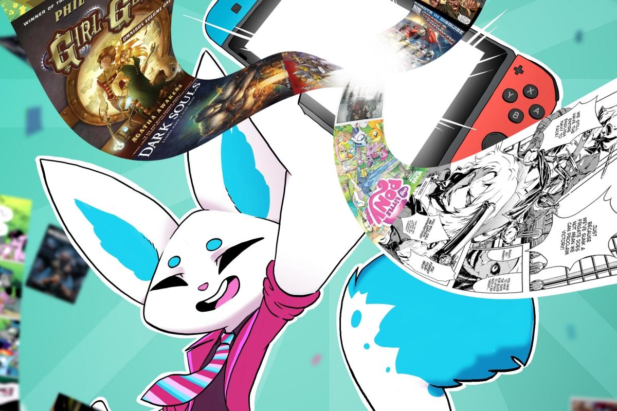 Aplicativo para leitura de quadrinhos está chegando aoSwitch