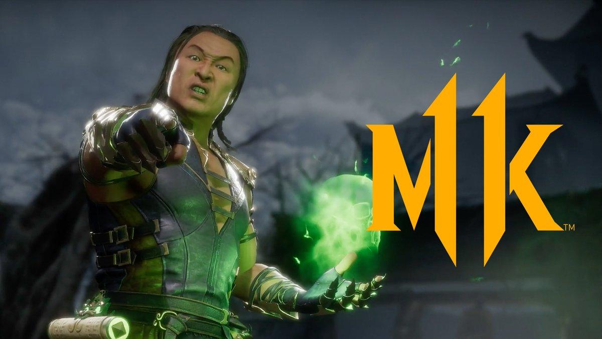 Shang Tsung e outros personagens são revelados para Mortal Kombat11